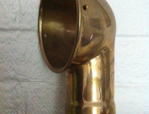 Replicated Brass Inlet