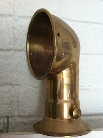 Replicated Brass Inlet