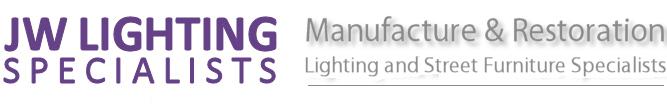 Heritage, Modern and Traditional Street Lighting Manufacturer UK Logo