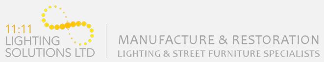 Heritage, Modern and Traditional Street Lighting Manufacturer UK Logo